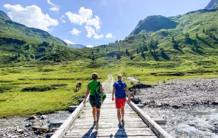 Gastein Trail: 1 dal, 6 etappes, 75 km wandelen