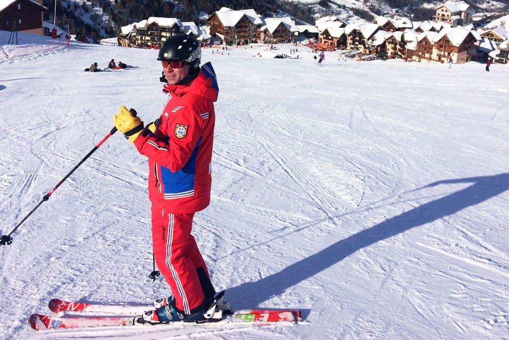 Skileraar rood pak