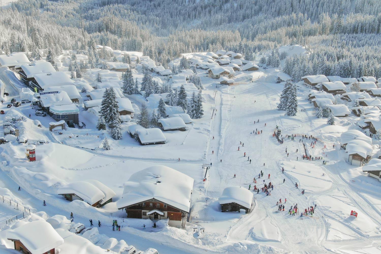 Skigebied Zillertal Arena in Oostenrijk