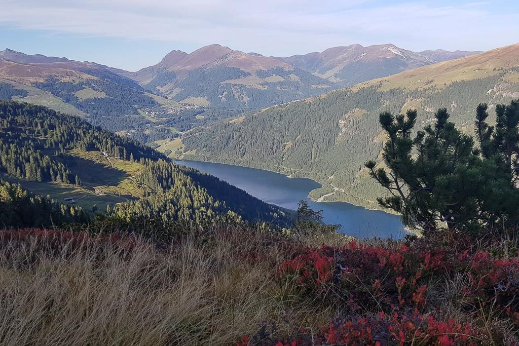 Prachtige herfstkleuren in de bergen