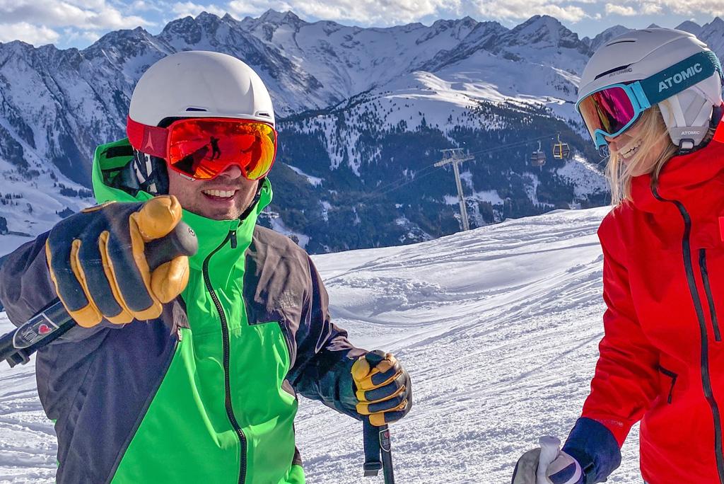 Skifahren Zillertal Arena
