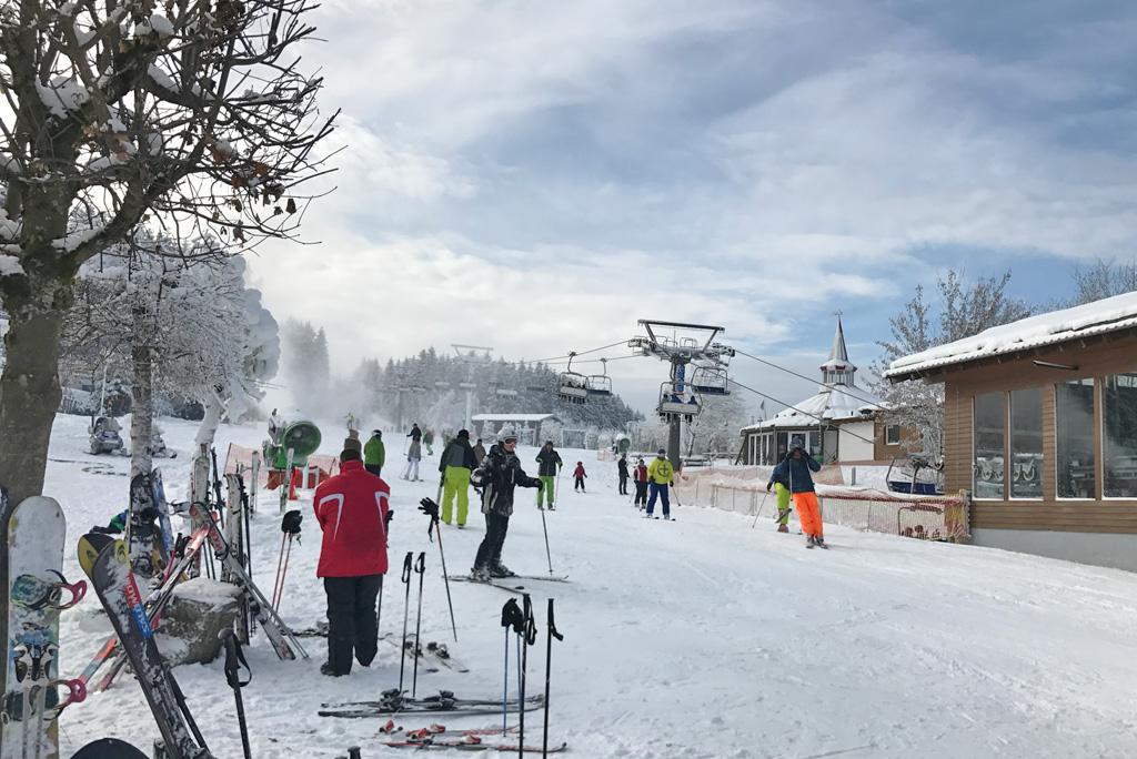Skiën Winterberg