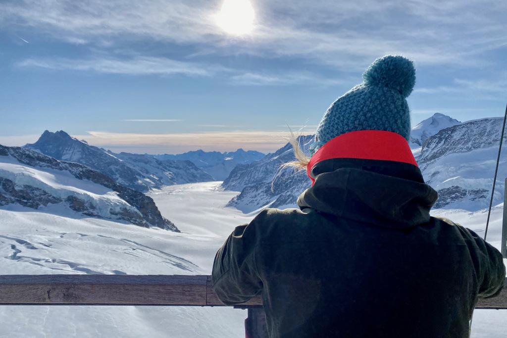 Uitzicht Jungfrau Joch
