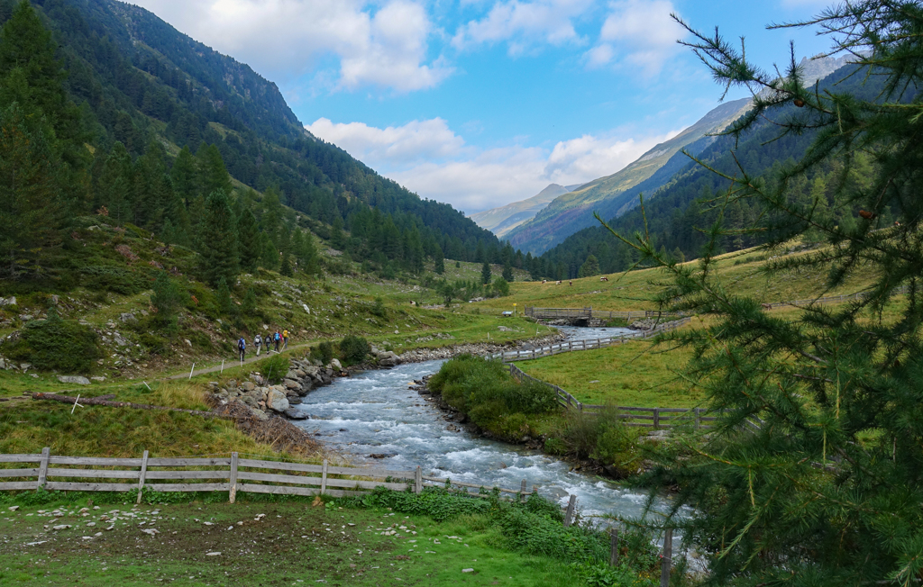 Wandelen in Osttirol naar de Jagdhausalm