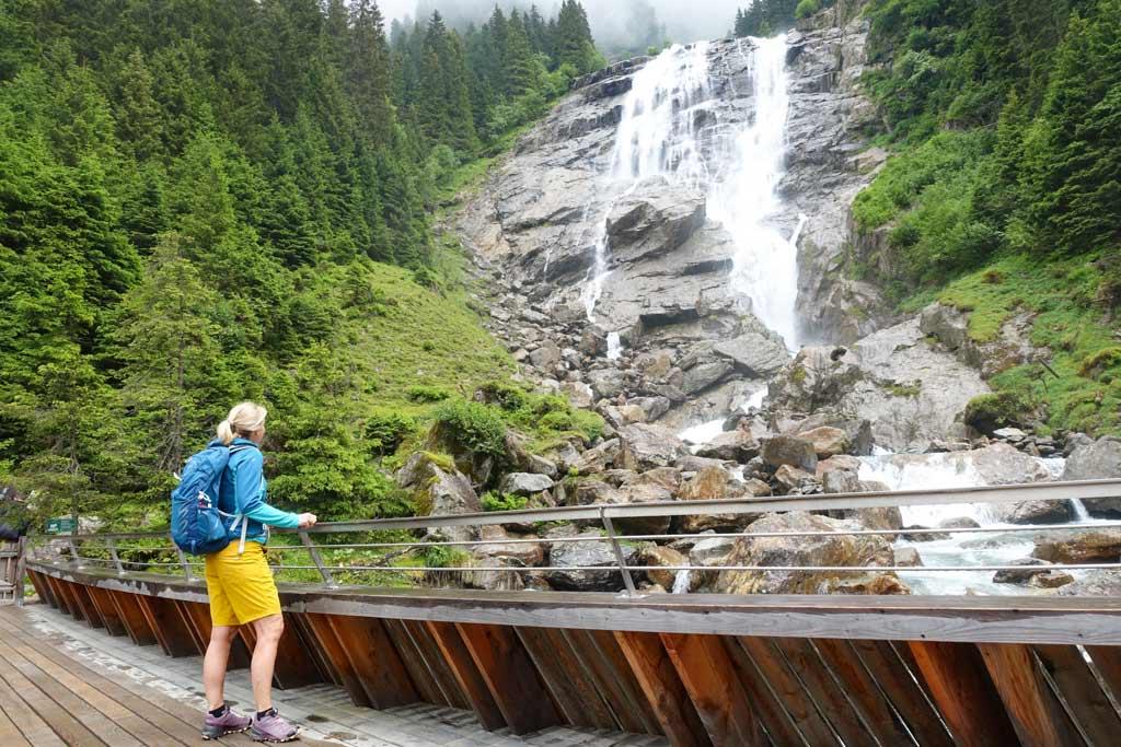 Grawa Waterval wandelen Stubaital Tirol