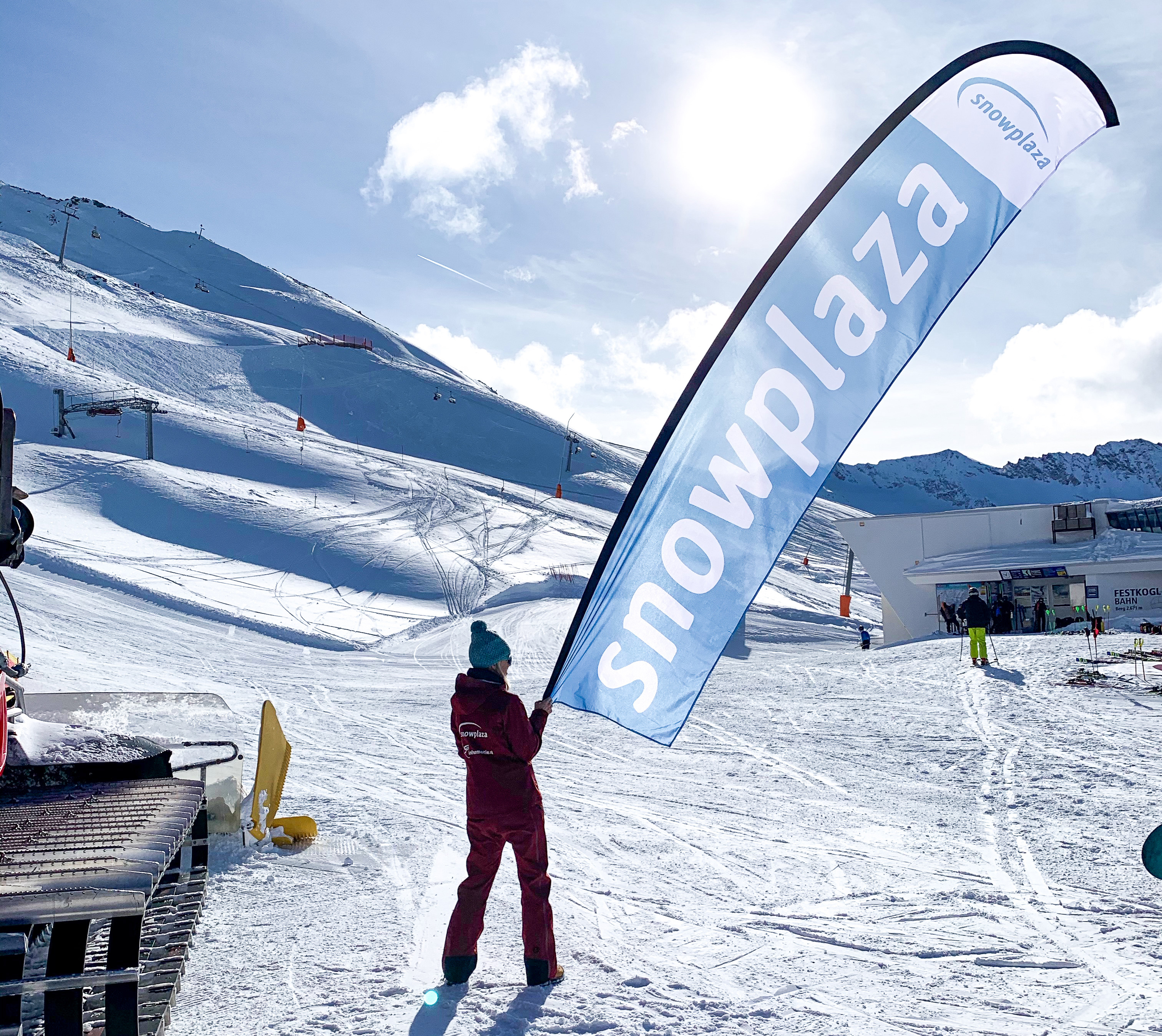 Ski Opening Gurgl Snowplaza
