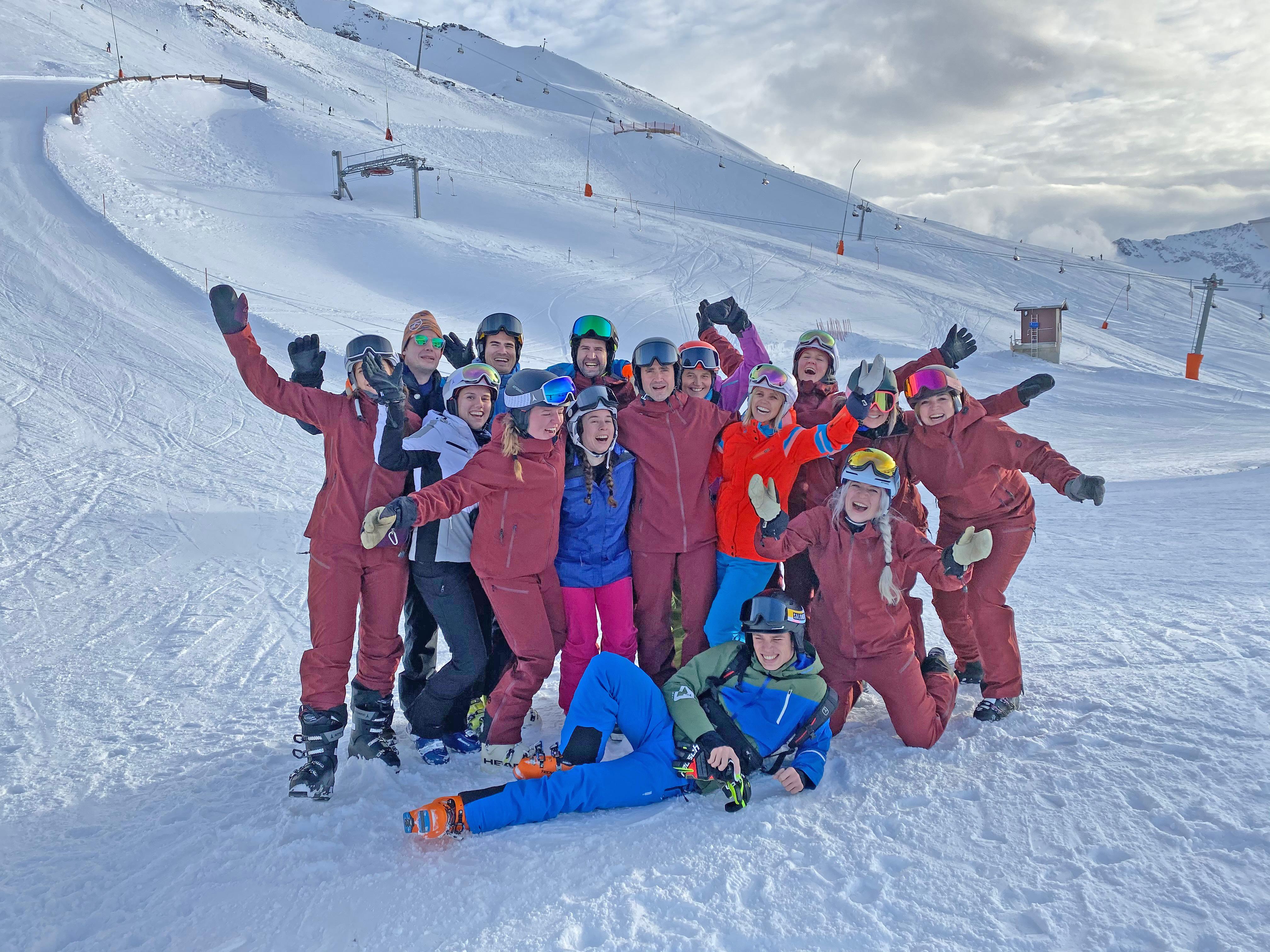 team ski opening gurgl snowplaza
