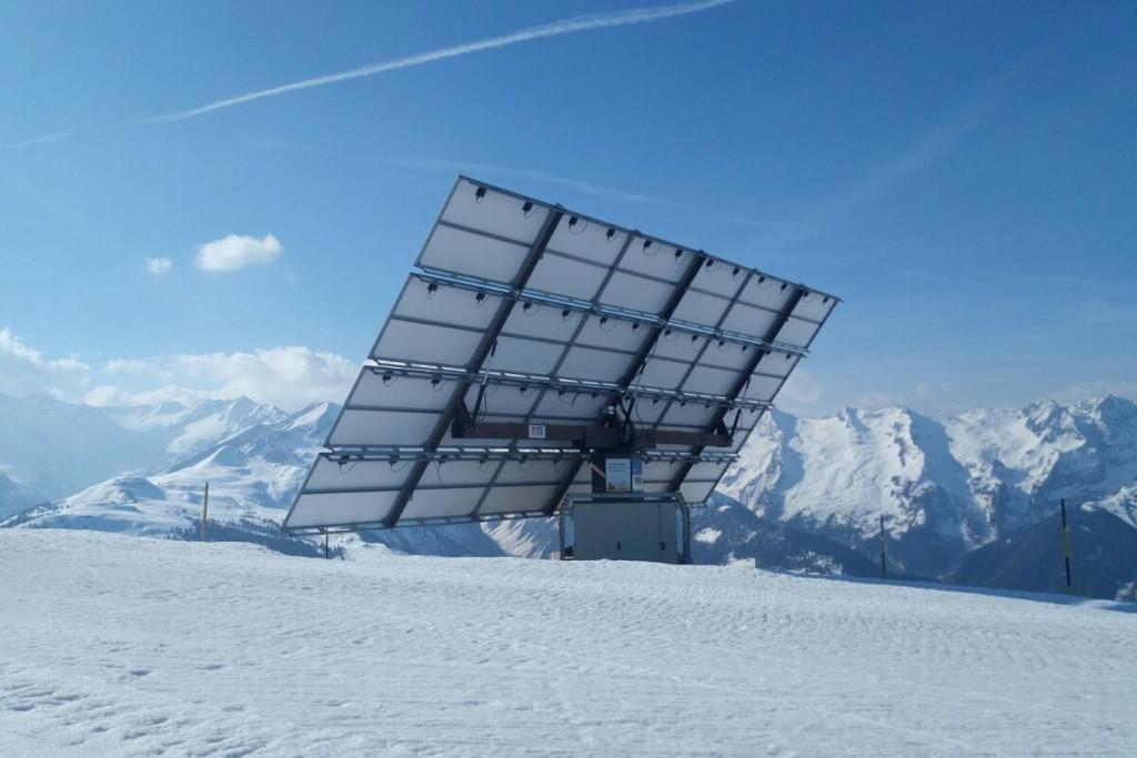 Solar panels in Gerlos