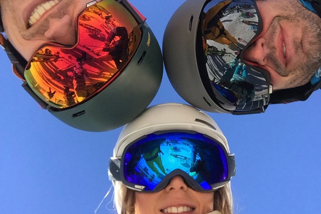 different types of ski goggles