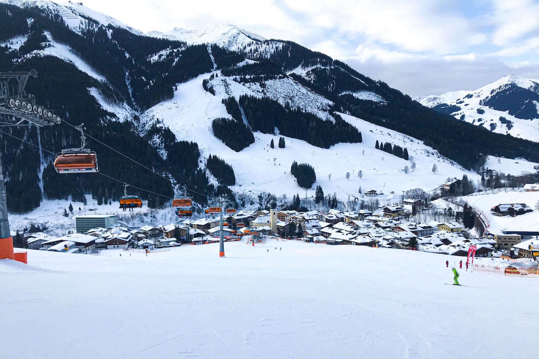 Sfeervolle dorpen Oostenrijk Saalbach