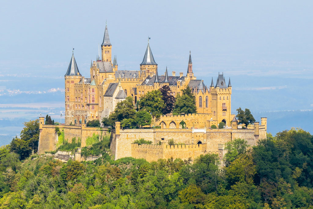 Burg Hohenzollern in het Zwarte Woud