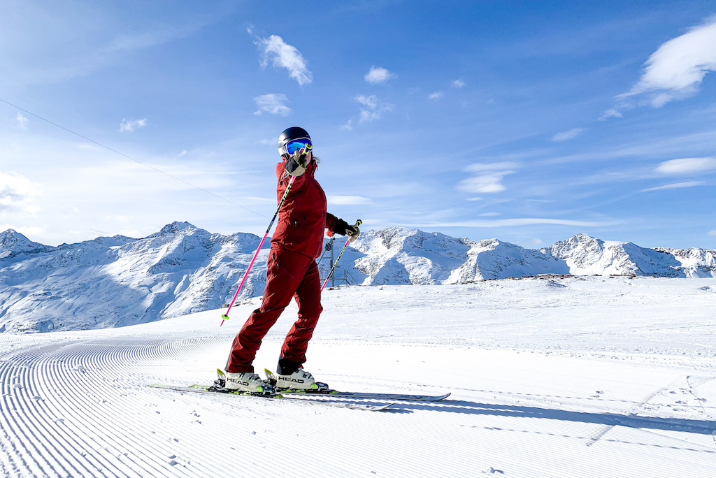 Skiër Gurgl