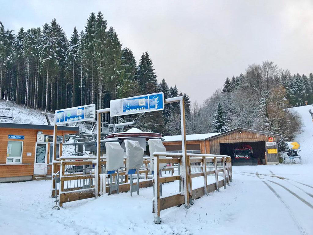 gesloten liften winterberg