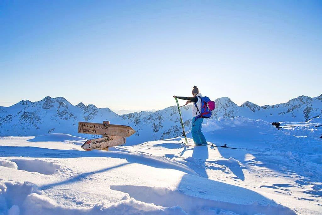 Toerskiën op de Schnalstaler Gletscher
