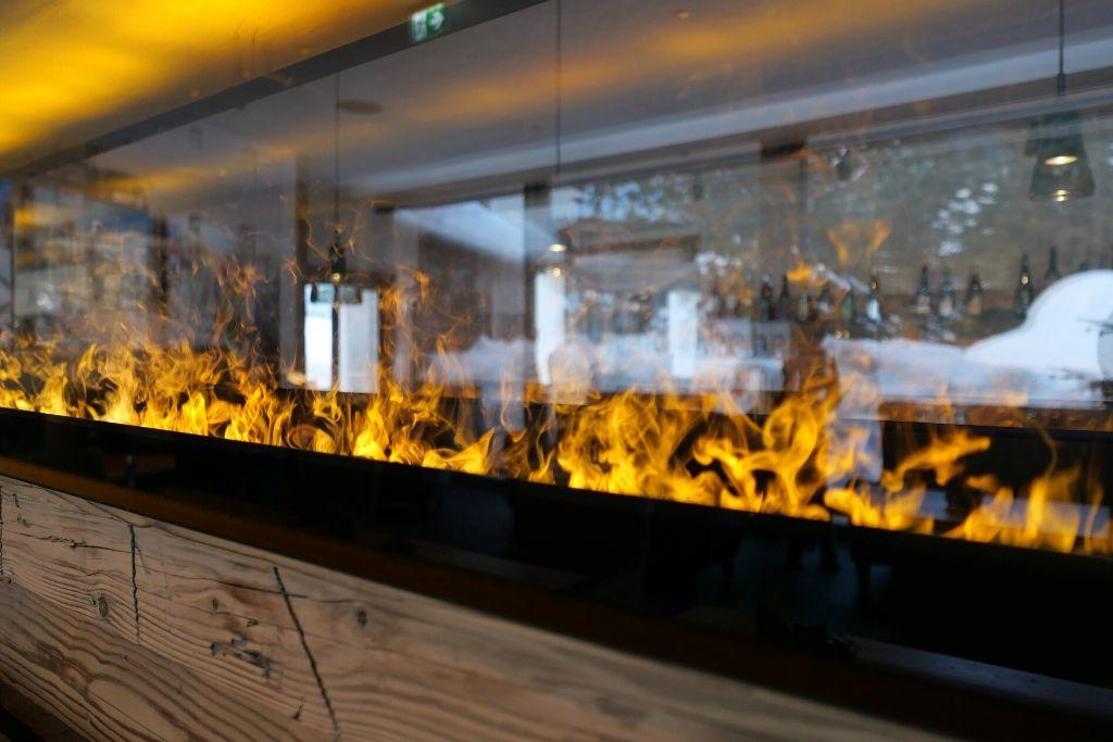Gemütliches Feuer Osttirol