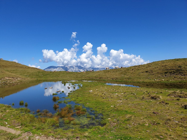 Herfstweer in de Alpen
