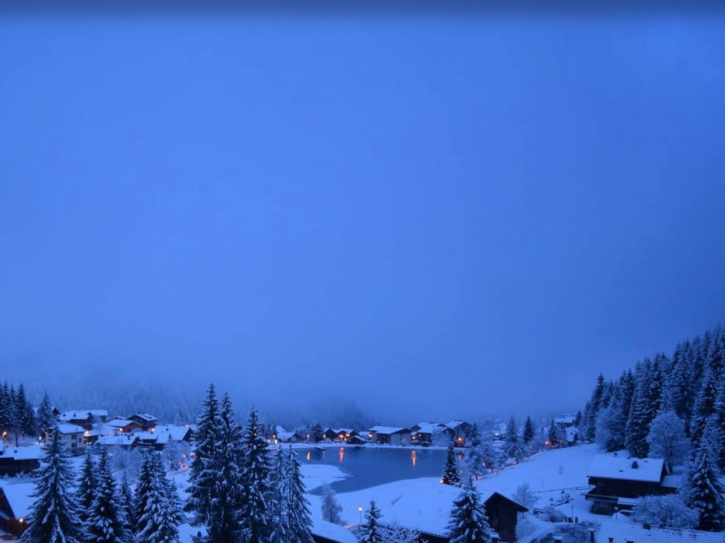 Chatel neige