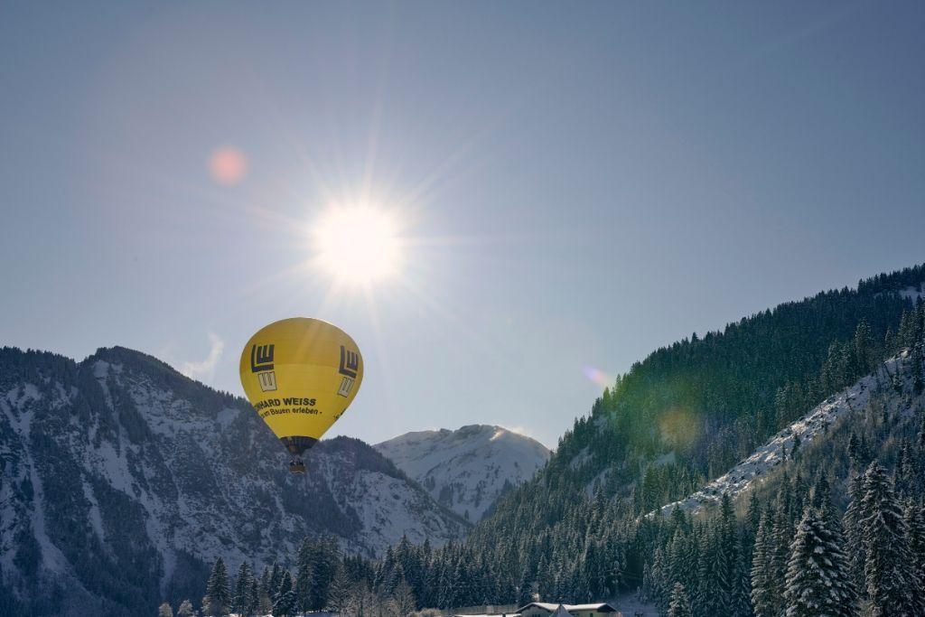 Ballon im Tannheimer Tal