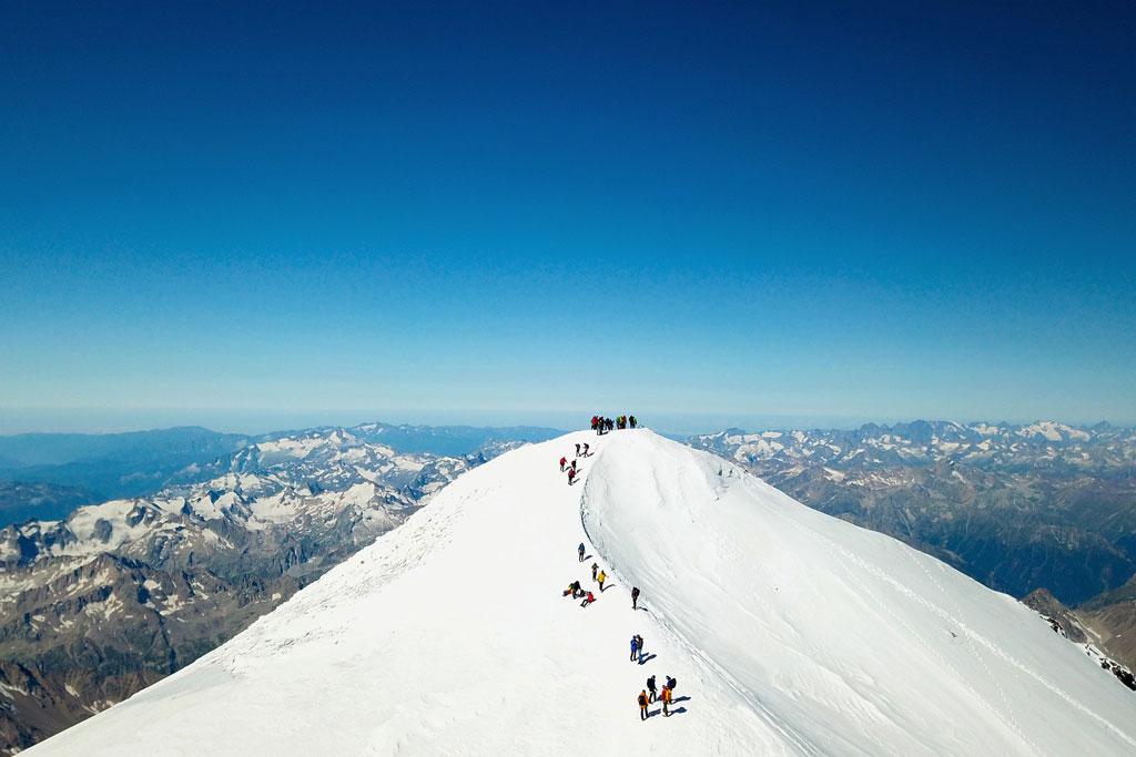 Elbrus: Hoogste bergen van Europa buiten de Alpen