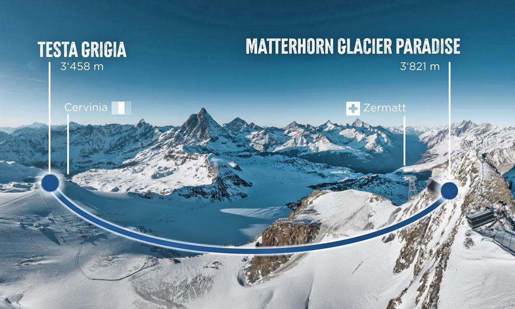 aanbouw gondel tussen zermatt matterhorn en cervinia