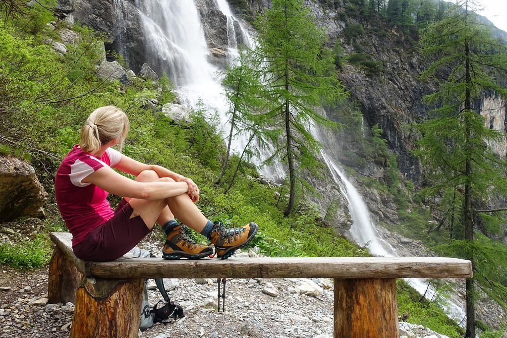 Eisbrunnen waterval