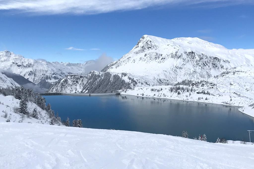 Skigebied Galtür