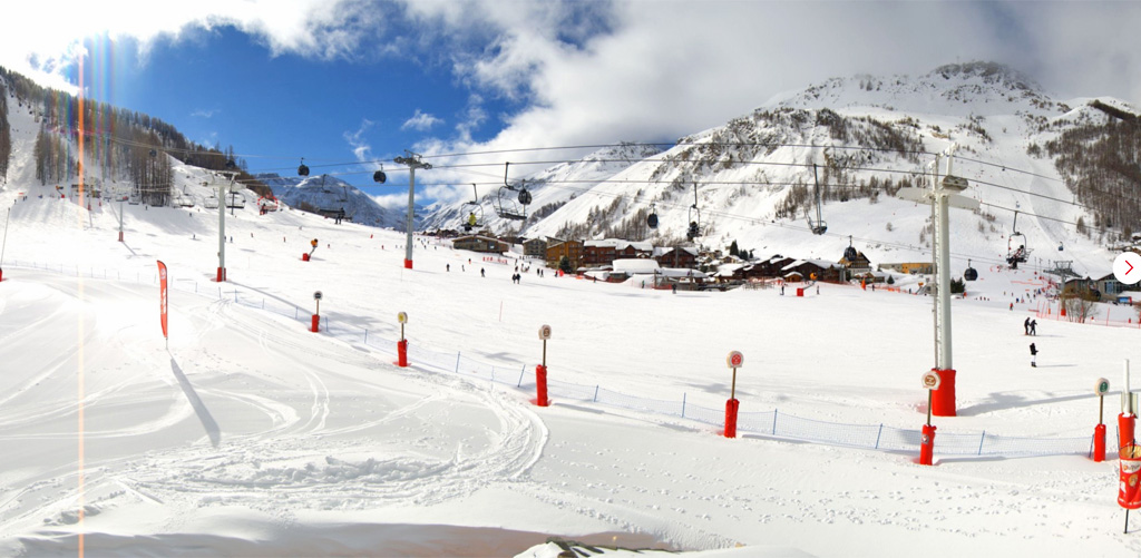 WEbcam Val disere