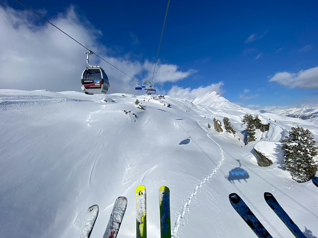 Combi skilift