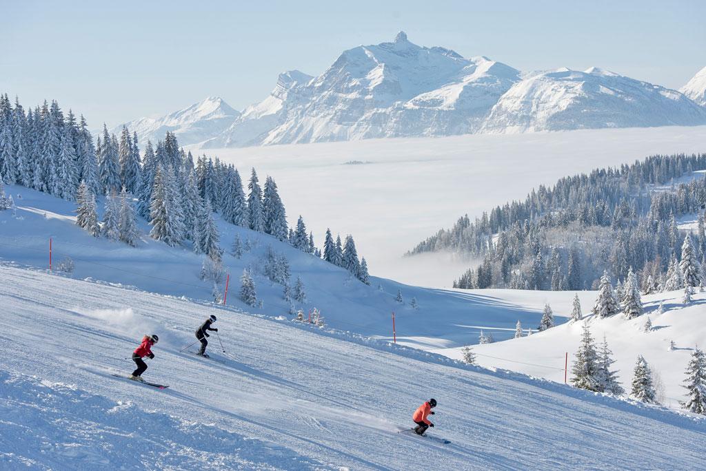 Skigebied Les Gets
