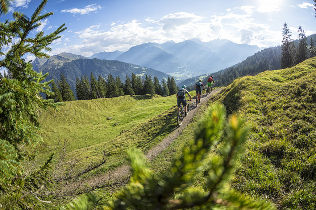 E-Mountainbikeroute Itonskopf Montafon