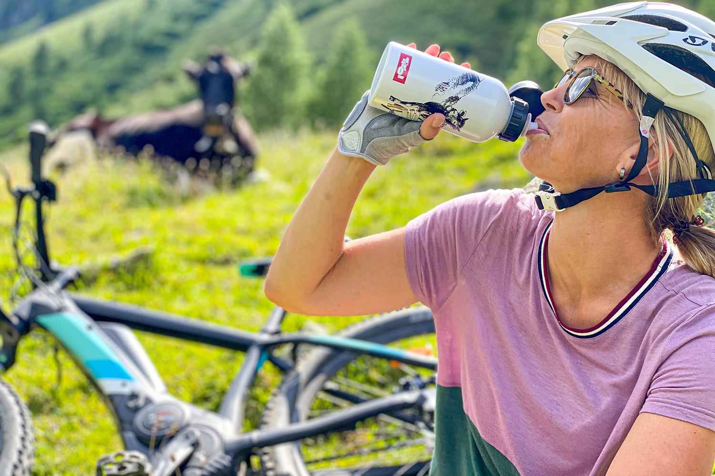 water drinken tijdens het e-biken