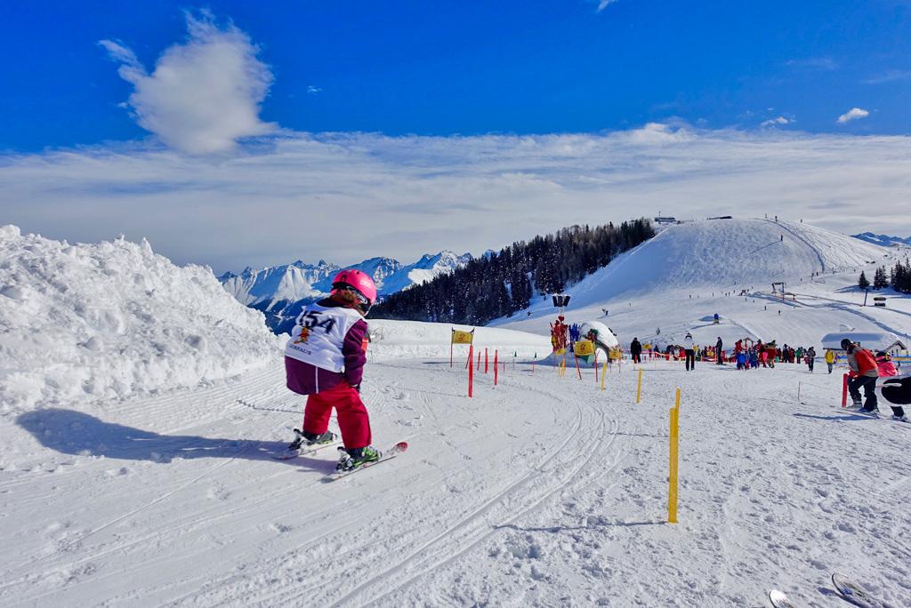 Leren skiën in Serfaus-Fiss-Ladis