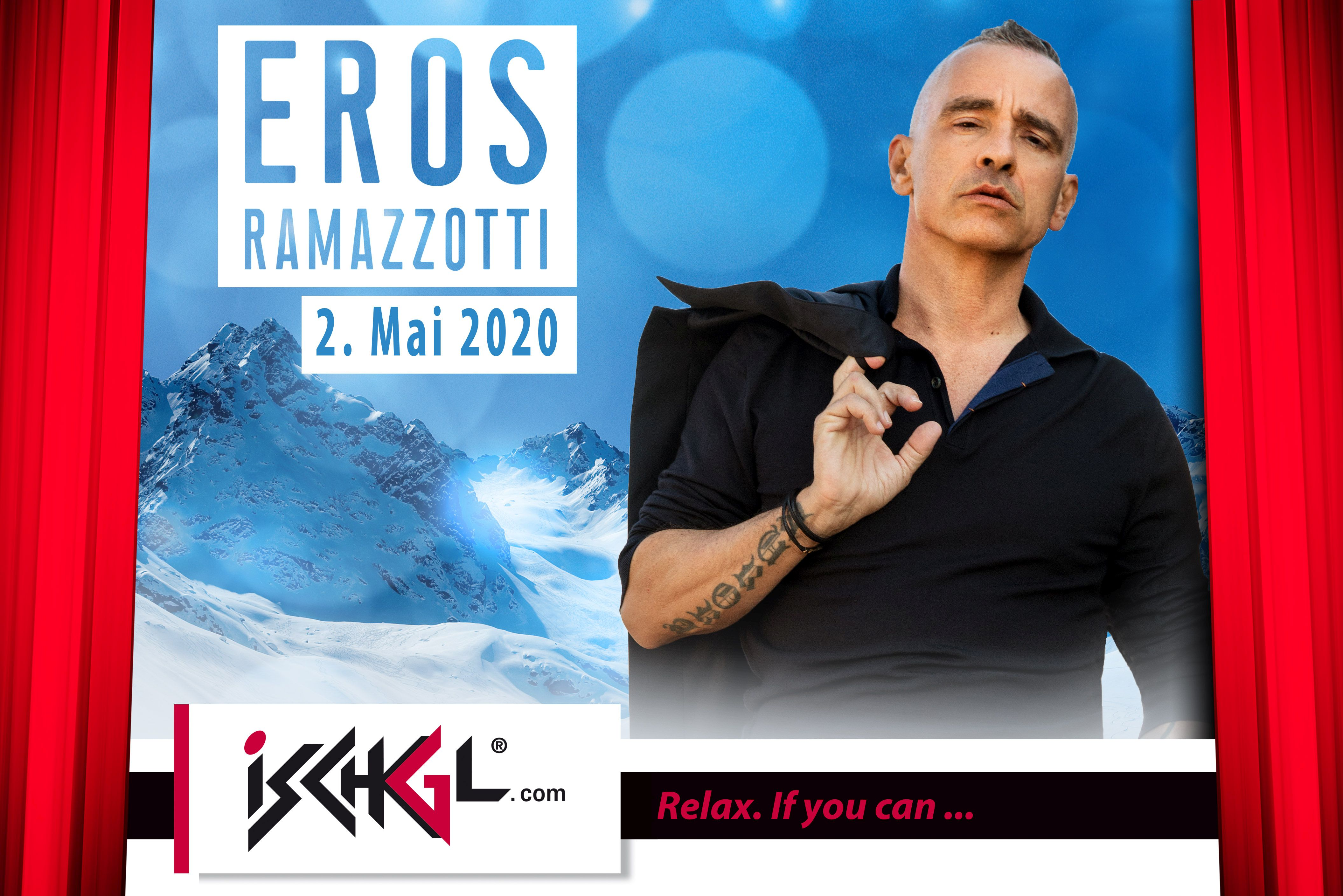 Ischgl Closing Concert Eros Ramazzotti