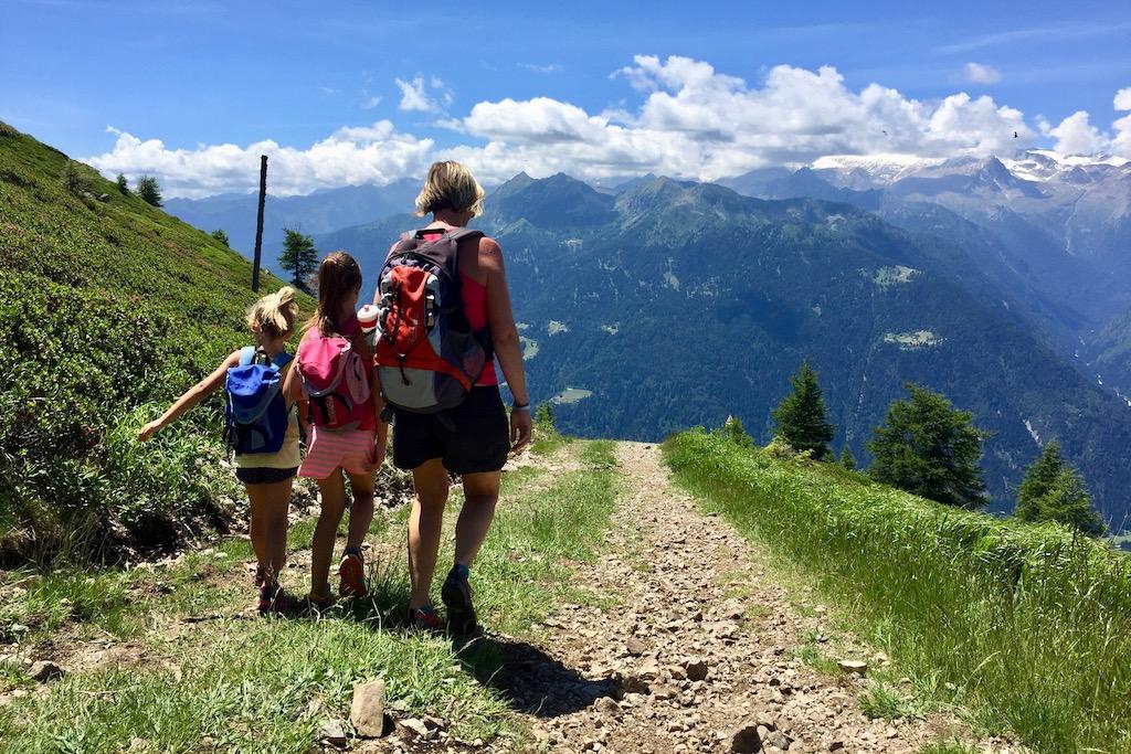 Wandeltocht in de bergen met je kinderen