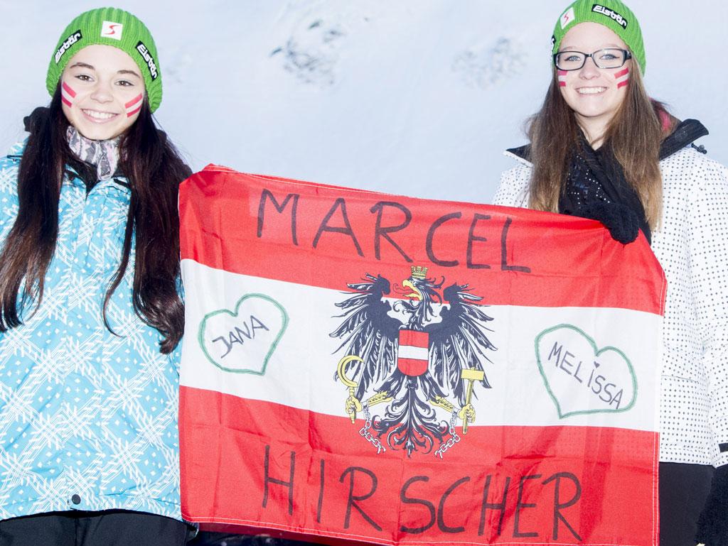 Fans Marcel Hirscher