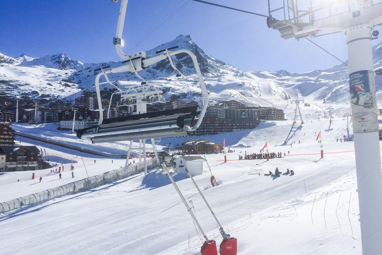 skigebied Les Trois Vallées