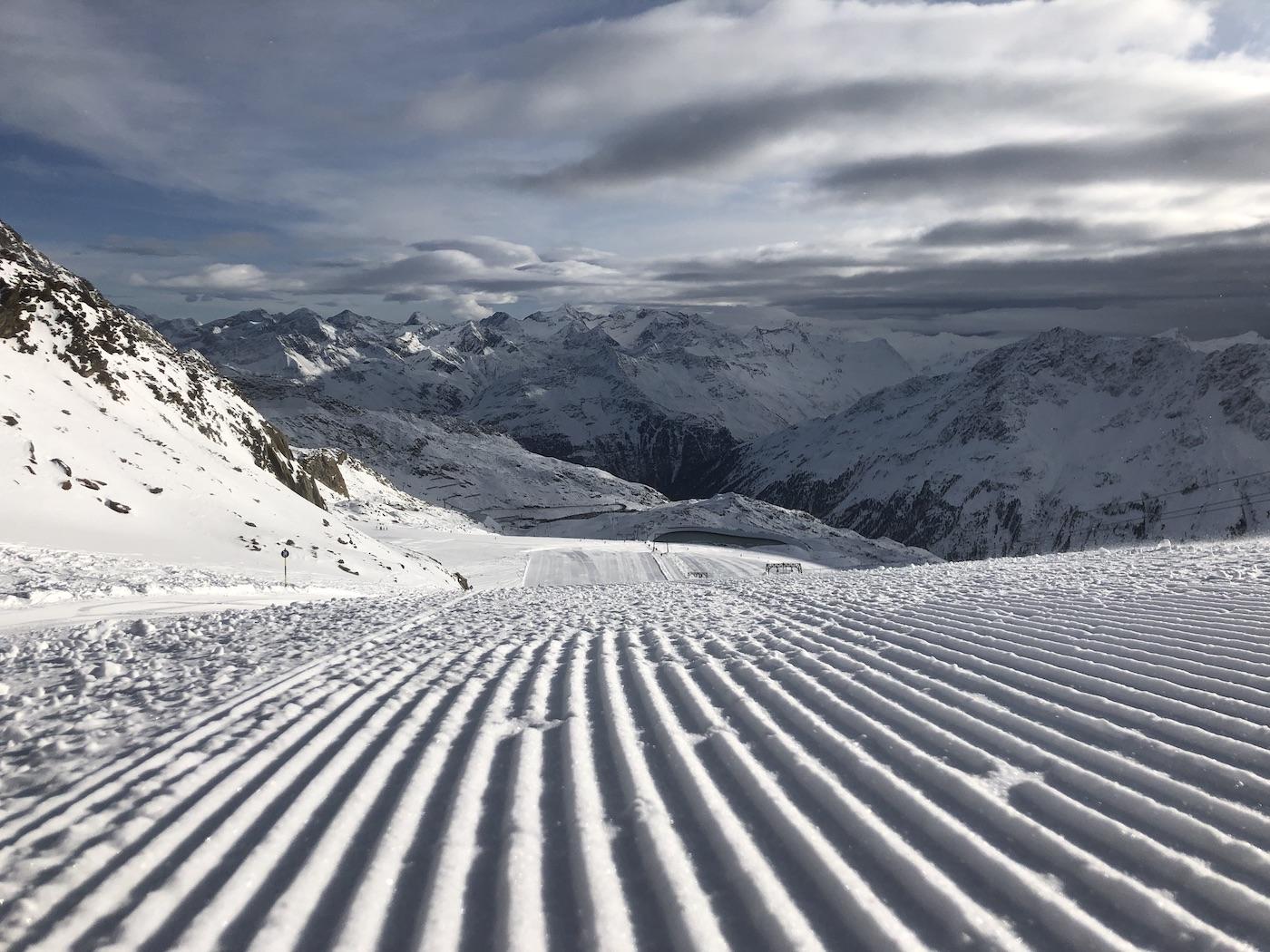 sneeuw 2021/2022. Kun je skiën in oktober?