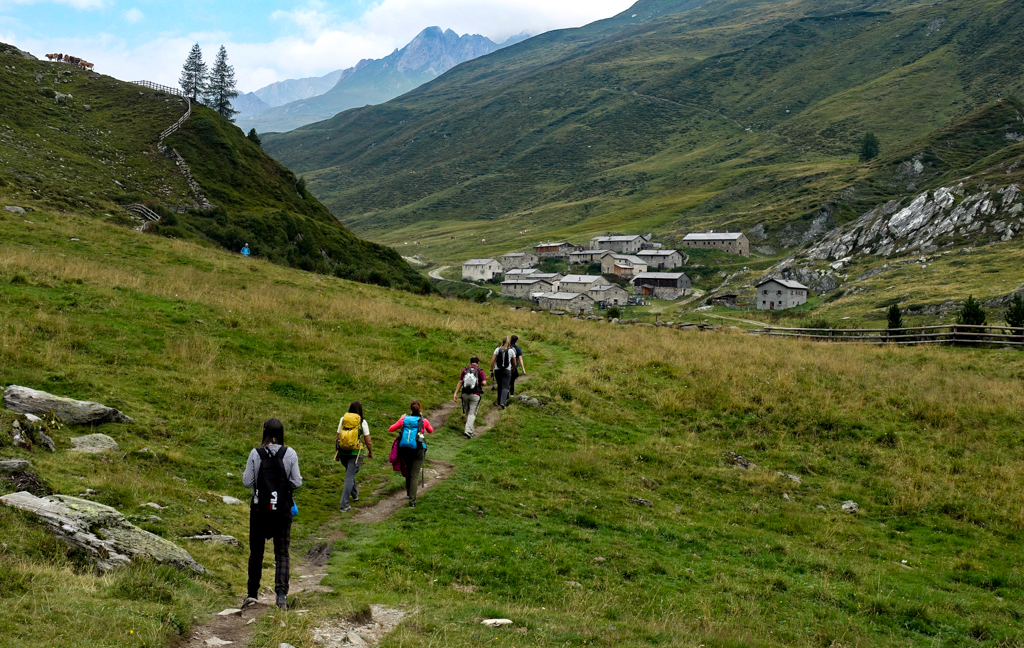 Oudste almdorp Jagdhausalm in Osttirol
