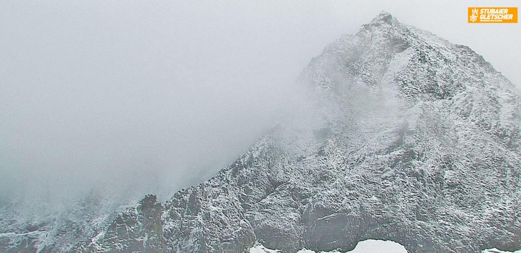 Verse sneeuw Stubaier Gletscher