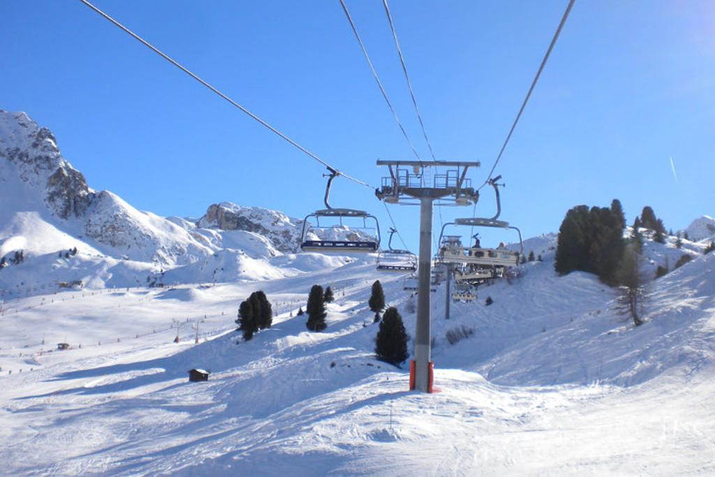 paradiski ski area