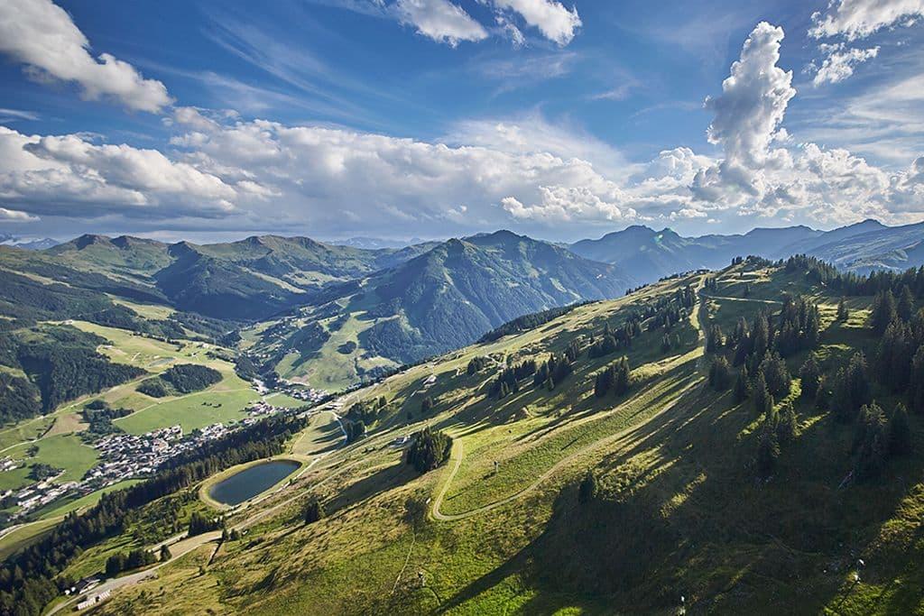 Panorama Trail op de Kohlmais