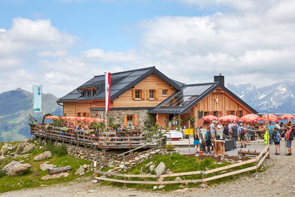 Aschererhütte in Ischgl Paznauntal