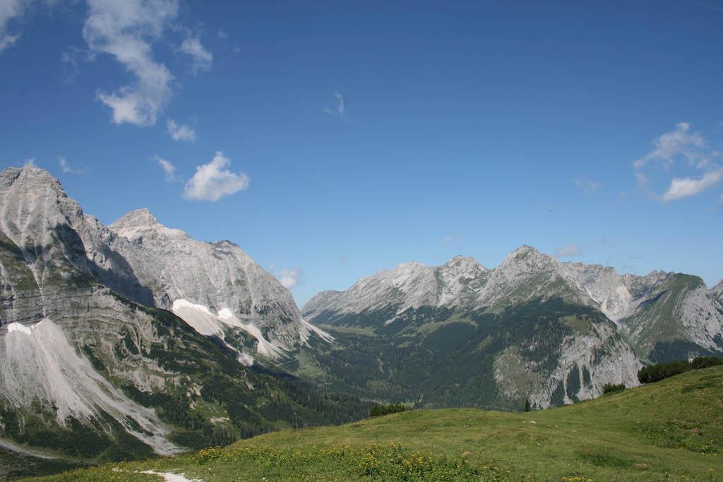 etappe 10 Adelaarsweg, dwars door Karwendel