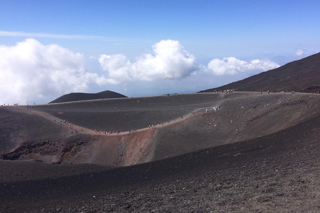 Wandelen de Etna op