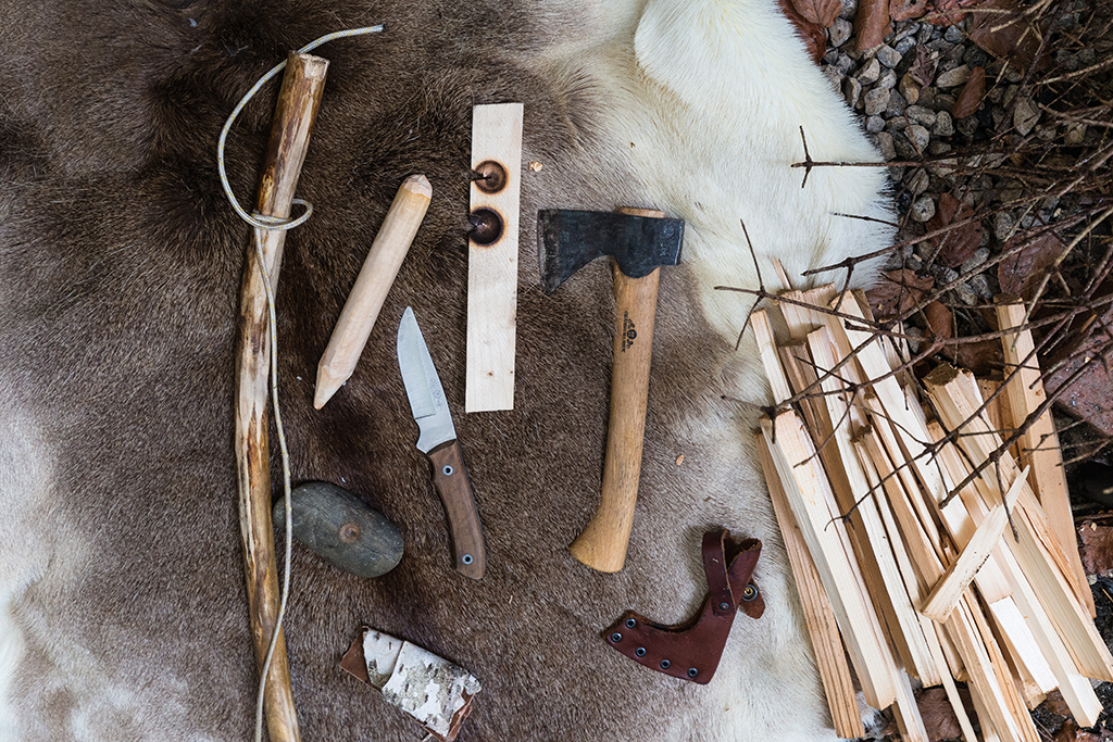 Survival tools for the winter forest
