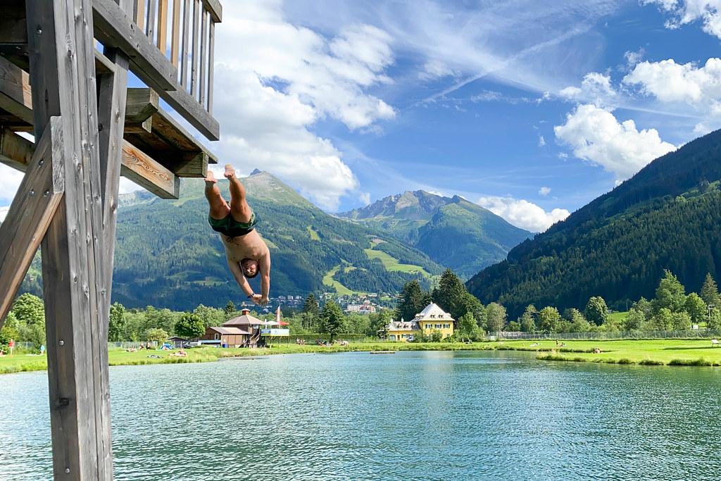 Wildzwemmen Alpen meer