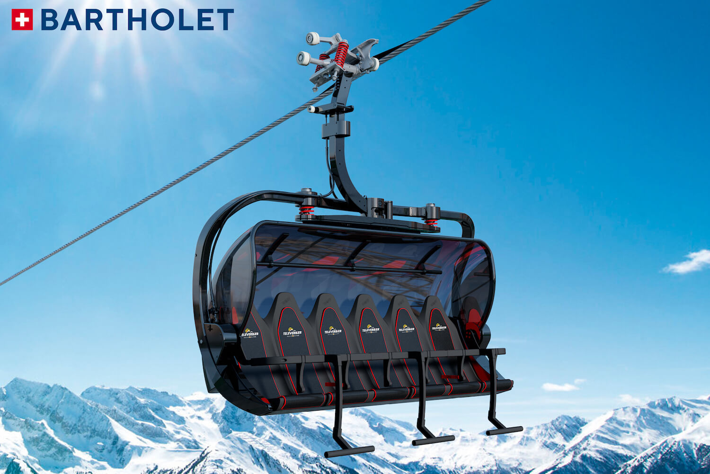 Nieuwe lift Les 4 Vallees