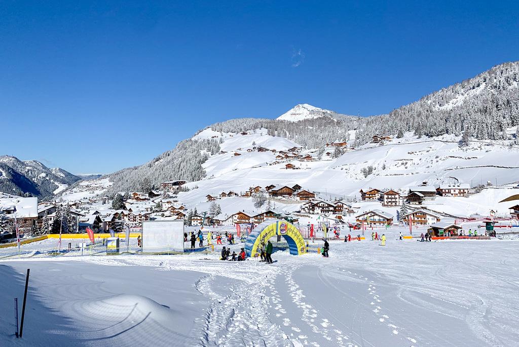 Skischool italie