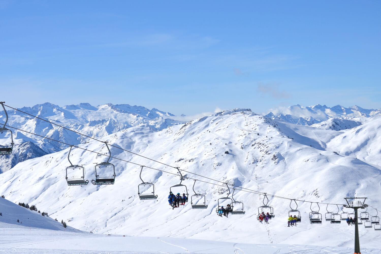 Liften skigebied Baqueira Beret