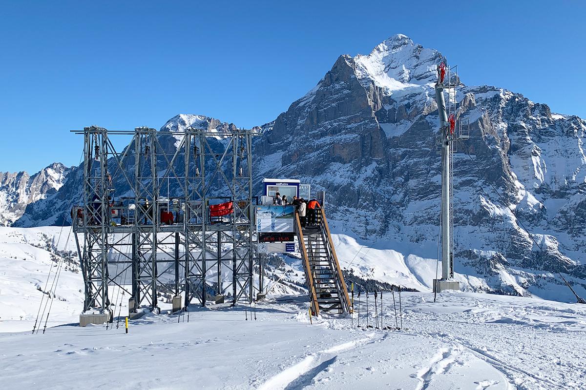 First Flieger en First Flyer in Grindelwald First